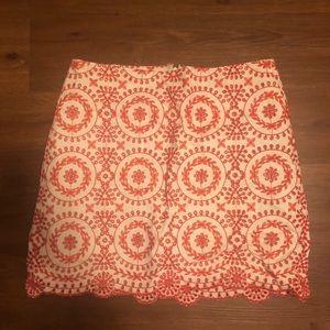Loft mini skirt NWT 8